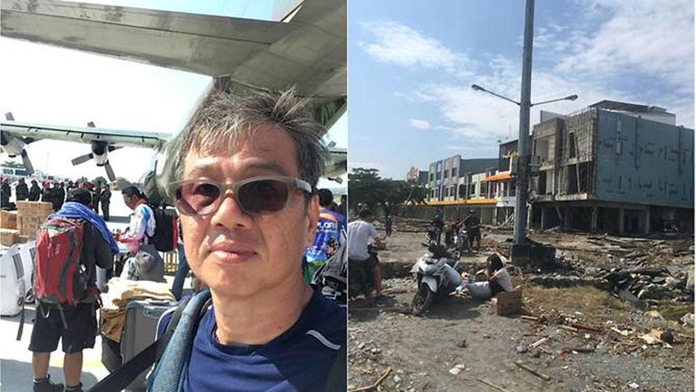 Du khách kể lại giây phút thoát chết gang tấc trong động đất, sóng thần Indonesia