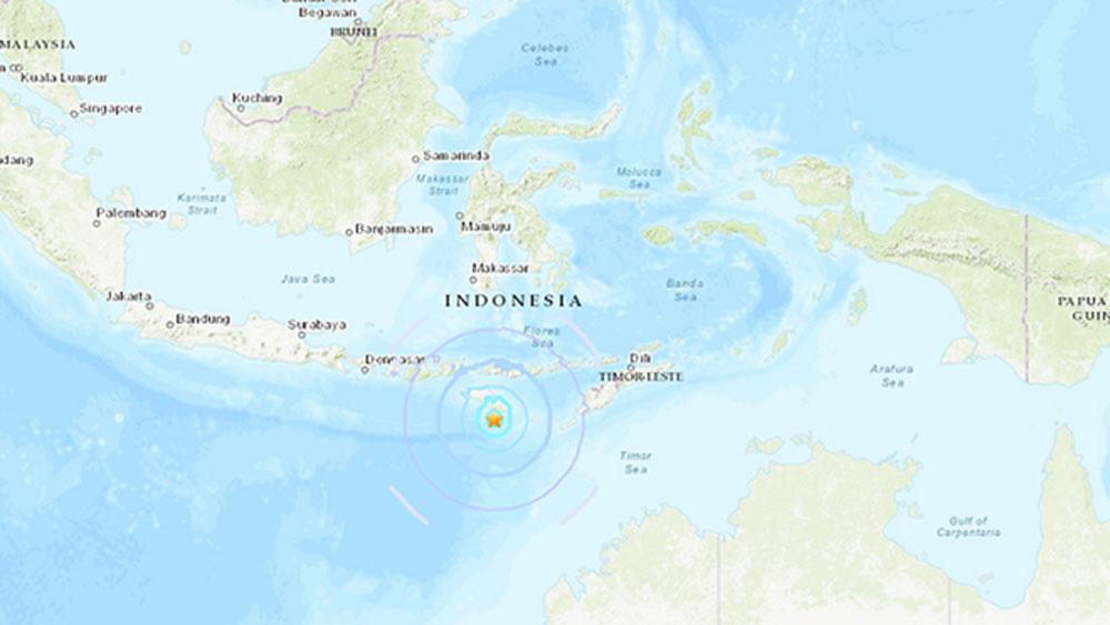 Động đất liên tiếp khu vực đảo Sumba của Indonesia