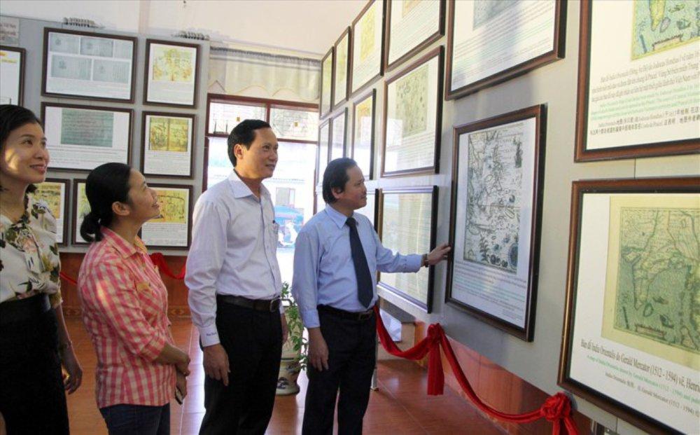 Trường Sa, Hoàng Sa, triển lãm bản đồ, trưng bày tư liệu, bằng chứng lịch sử