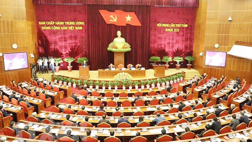 Party Central Committee, 8th session, Communist Party of Vietnam, official members,  alternate members, socio-economic situation, development plan