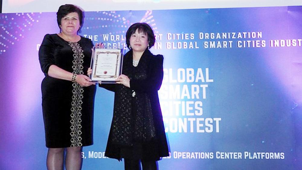 Vietnamese firm, Global Smart Cities Contest, Advanced International JSC, AIC Group, Best Smart National Concept, Russian Academy