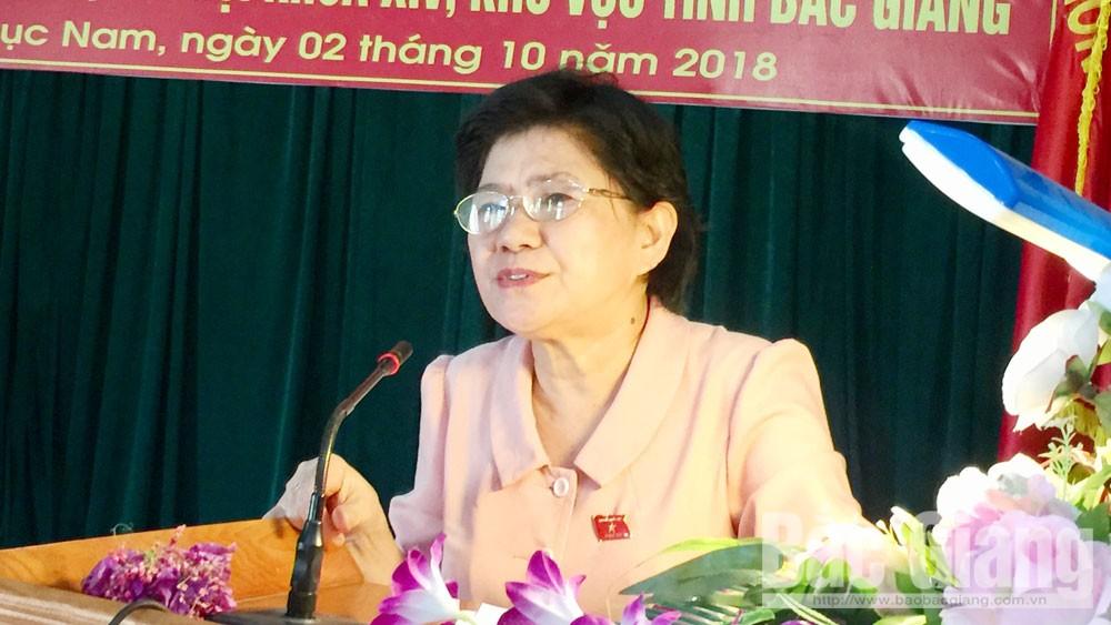 Đại biểu Quốc hội tiếp xúc cử tri Lục Nam: Chú trọng thực hiện các chương trình mục tiêu quốc gia