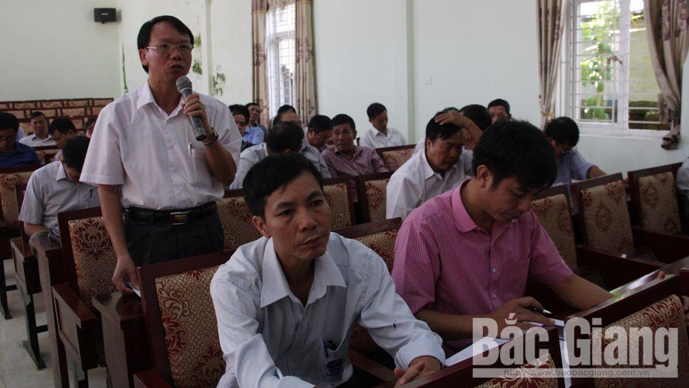 Việt yên, tiếp xúc cử tri
