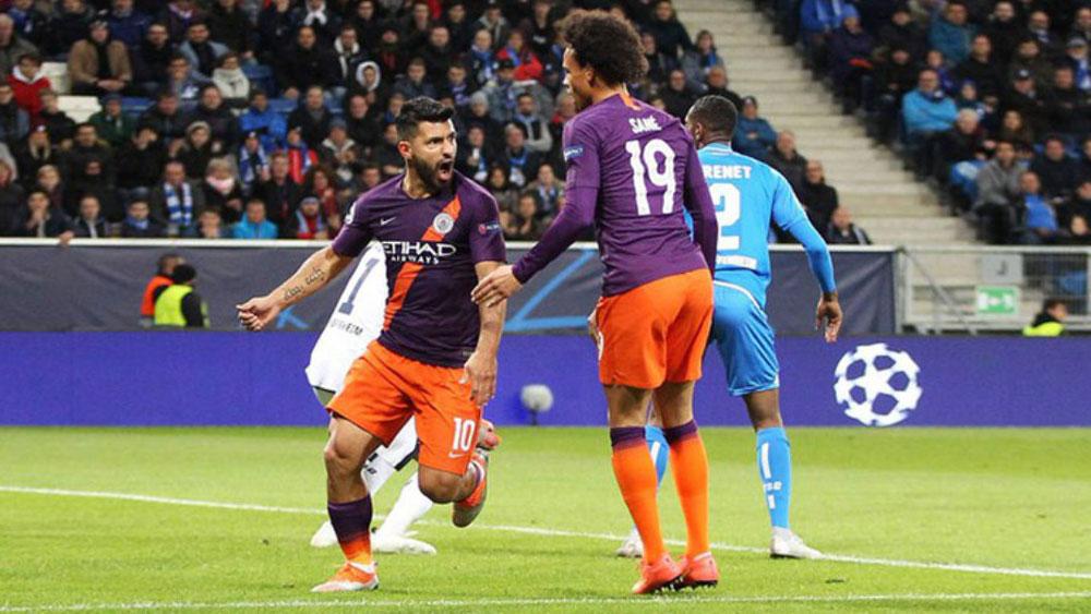 Aguero-Silva tỏa sáng, Man City ngược dòng ấn tượng