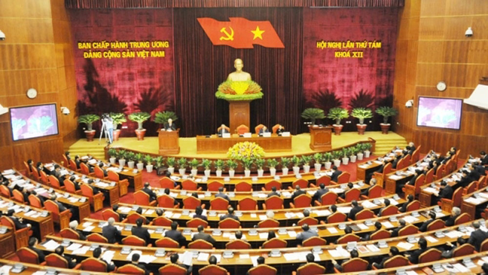 Party Leader, issues for discussion, Party Central Committee, Nguyen Phu Trong, opening speech, 8th meeting, socio-economic development, decisive role, state budget situation, strategic breakthroughs
