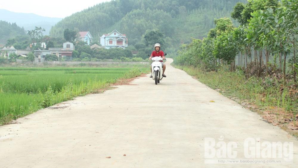 Tiến độ cứng hóa đường nông thôn chậm