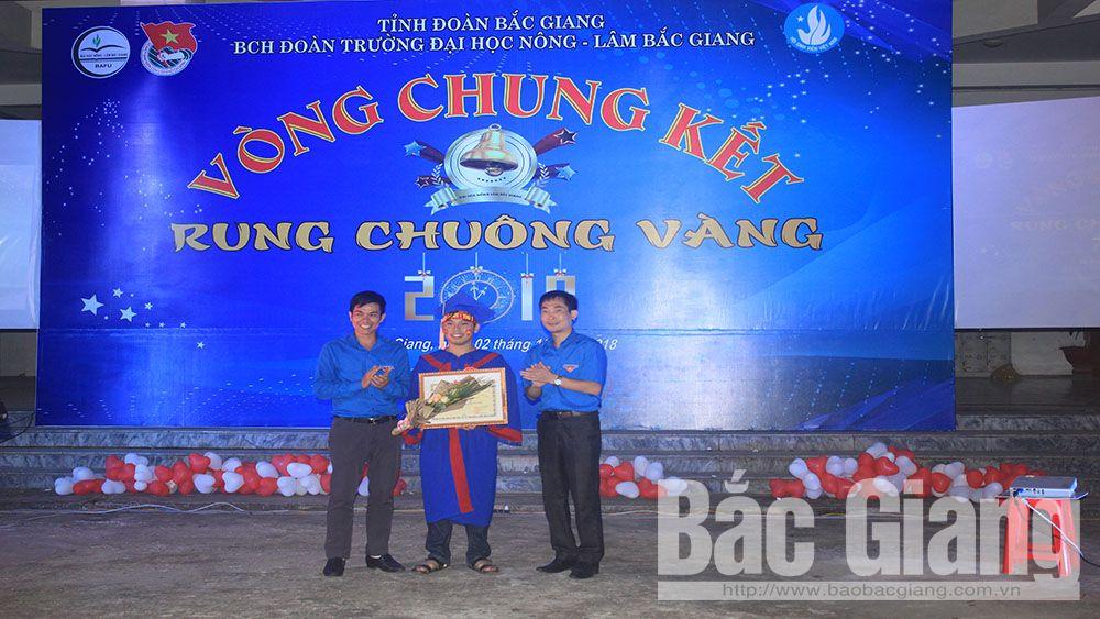 """Hấp dẫn chung kết """"Rung chuông vàng"""" của tuổi trẻ Trường Đại học Nông - Lâm Bắc Giang"""