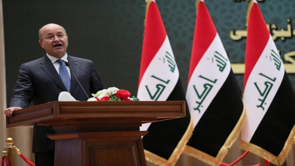Ông Barham Salih trở thành Tổng thống mới của Iraq