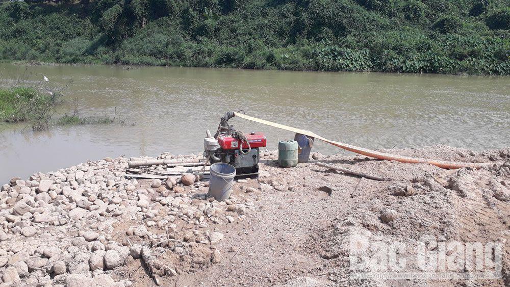 Khai thác khoáng sản trái phép tại Lục Ngạn: Chưa quyết liệt xử lý