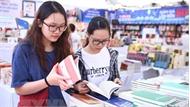 """""""Khoe"""" công nghệ kết hợp sách giấy và ứng dụng di động tại Hội sách 2018"""