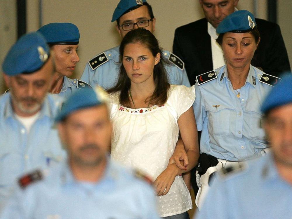 kết án, giết người, án mạng, sát thủ, Amanda Knox, nữ sát thủ