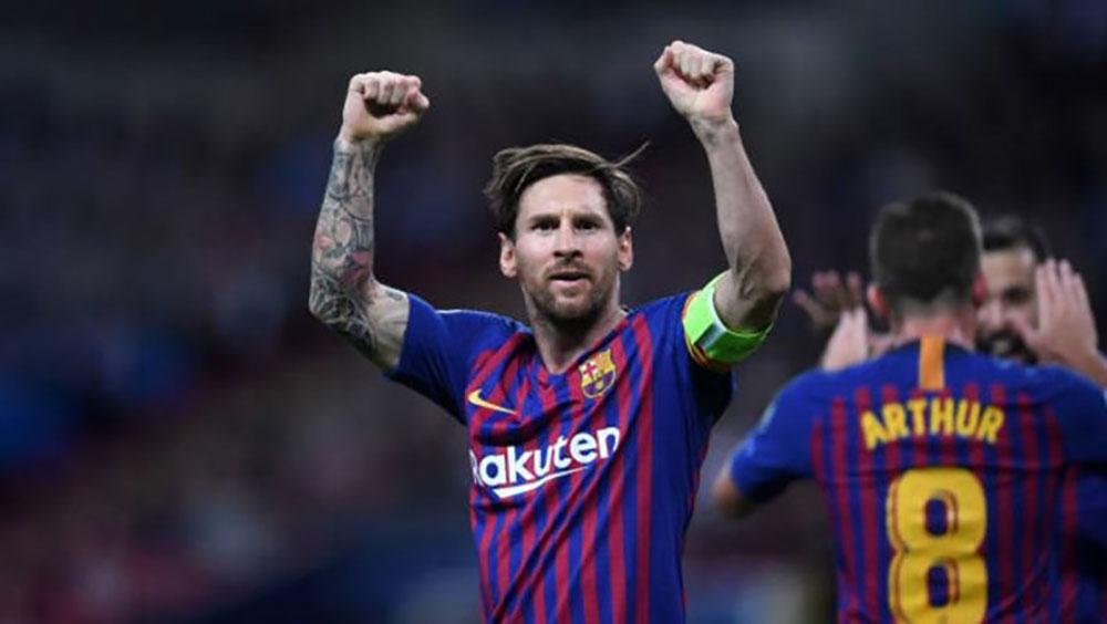 Tottenham 2-4 Barca: Messi lập cú đúp sau 2 lần sút trúng cột