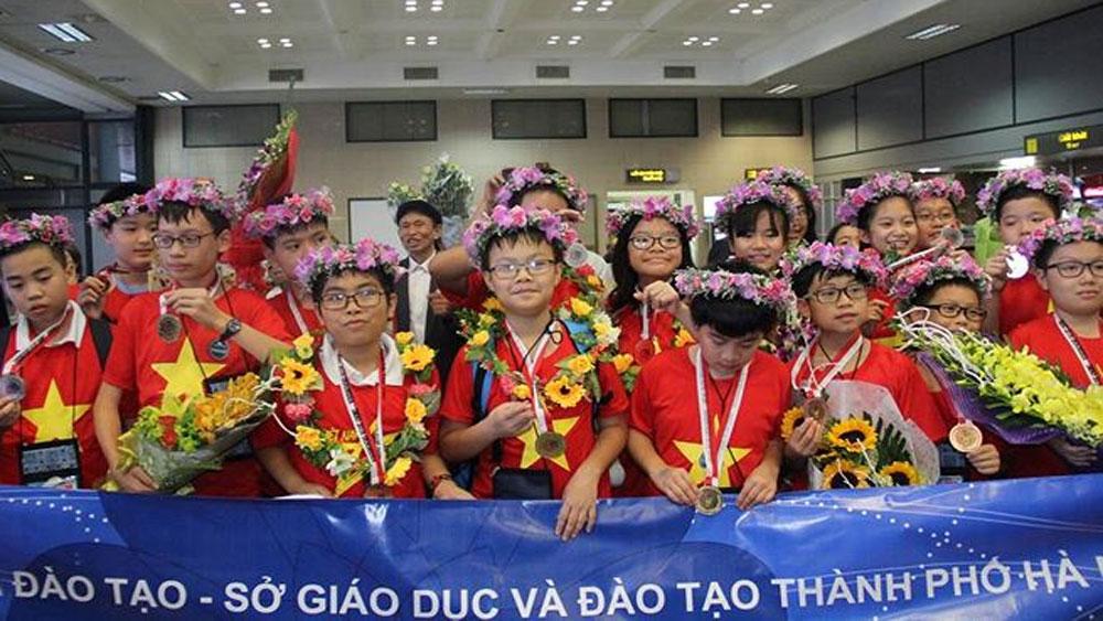 Việt Nam, lập kỳ tích,  kỳ thi Toán, Khoa học quốc tế IMSO 2018