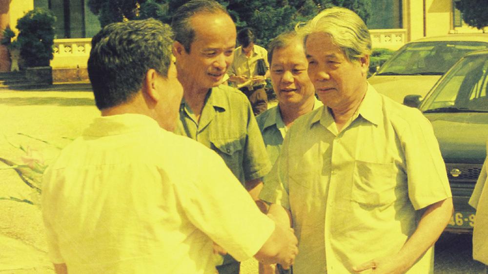 Một số hình ảnh Nguyên Tổng Bí thư Đỗ Mười với tỉnh Bắc Giang