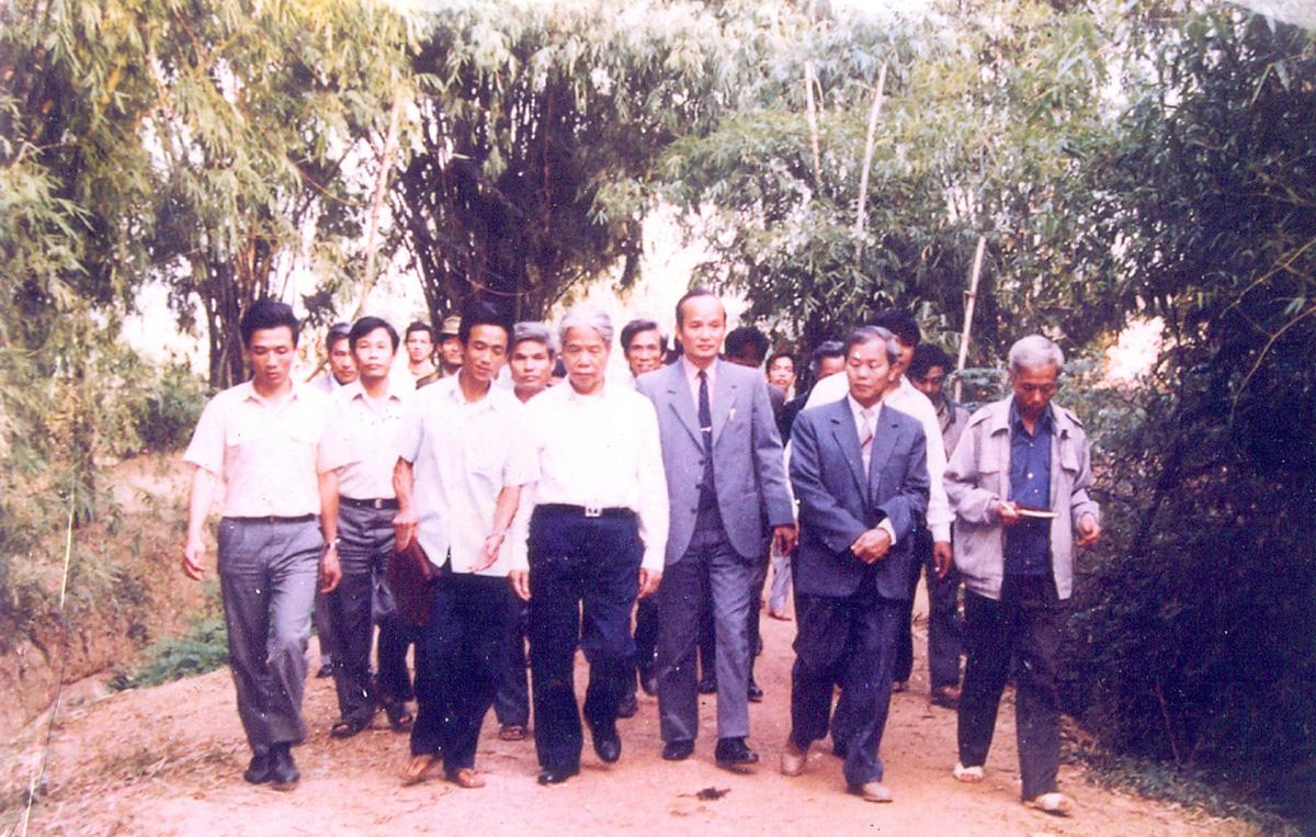 Tổng Bí thư Đỗ Mười, tỉnh Bắc Giang, Tổng Bí thư, Chủ tịch nước