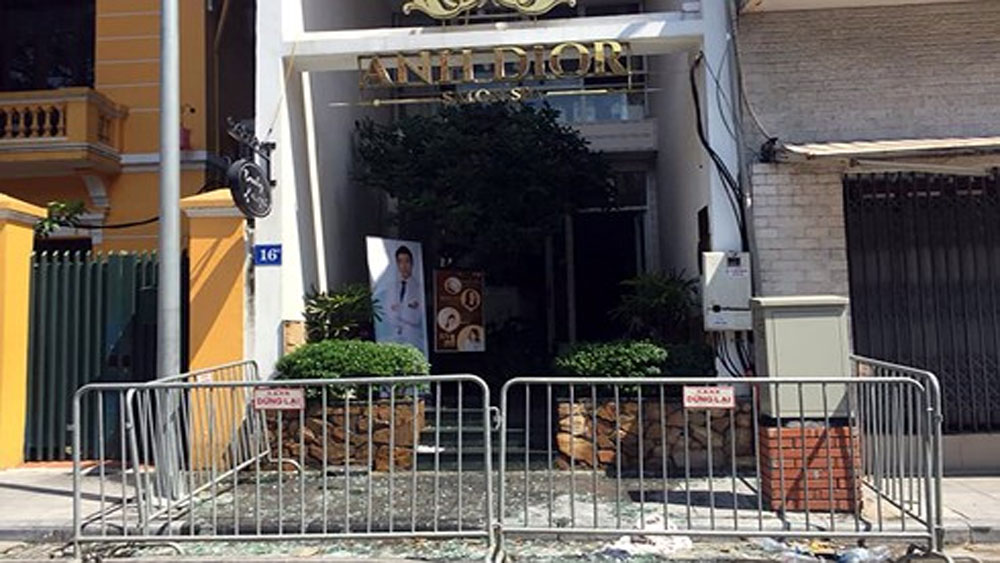 Cháy thẩm mỹ viện ở Hà Nội, nhiều người bị mắc kẹt