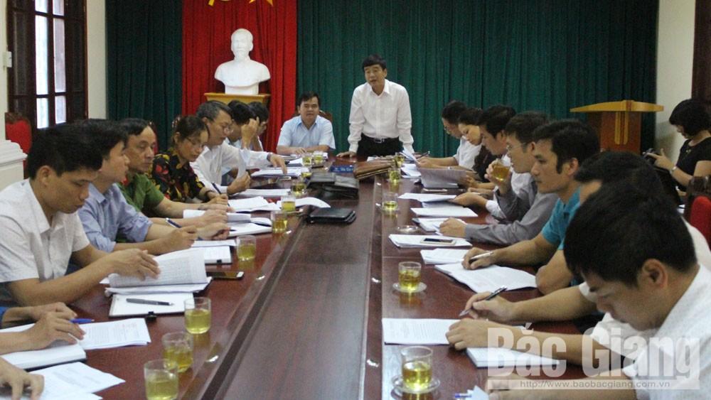 Kiểm tra thực hiện Nghị quyết 114 về công tác tư tưởng tại Lục Nam