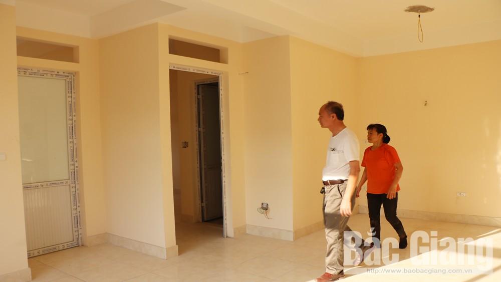 nhà ở xã hội, Bắc Giang, Công ty cổ phần tập đoàn Quang Minh, xây dựng