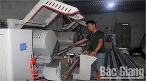Cơ cấu lao động ở Hiệp Hòa: Chuyển nhanh từ nông nghiệp sang công nghiệp, dịch vụ