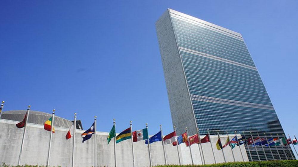 Lễ viếng và mở sổ tang Tổng Bí thư Đỗ Mười tại Liên Hợp quốc