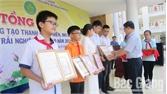 17 cá nhân, nhóm tác giả đoạt giải Cuộc thi Sáng tạo thanh thiếu niên, nhi đồng TP Bắc Giang