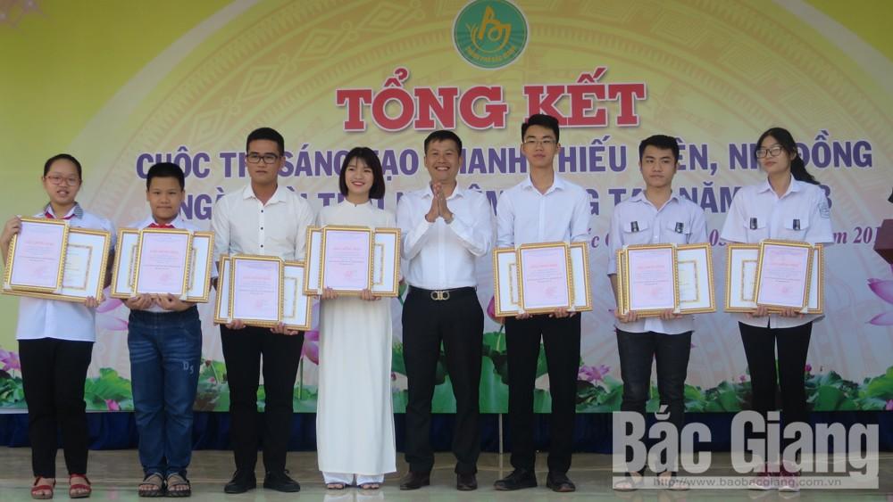 Cuộc thi Sáng tạo thanh thiếu niên, nhi đồng TP Bắc Giang, Bắc Giang