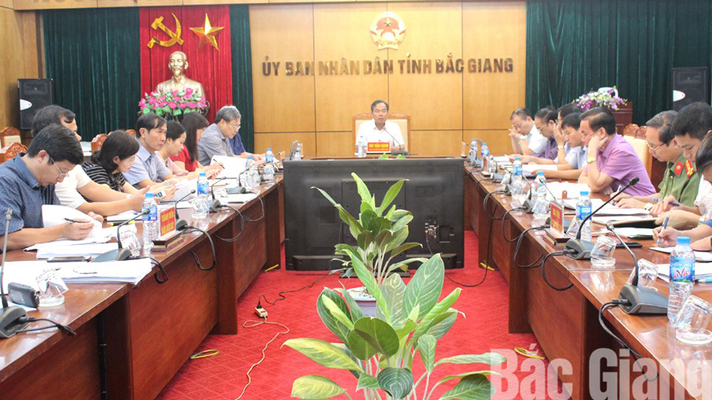 Bac Giang only approves for investment projects with completed environmental procedures