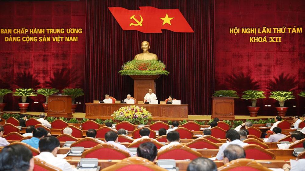 Ngày làm việc thứ tư, Hội nghị lần thứ 8 Ban Chấp hành T.Ư Đảng khóa XII