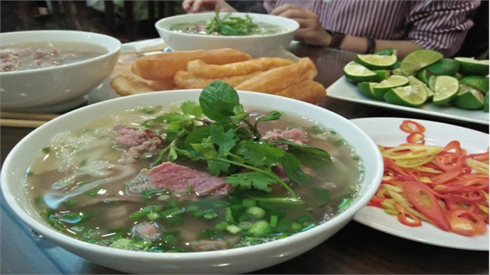 One of the best soups for a chill autumn day, pho