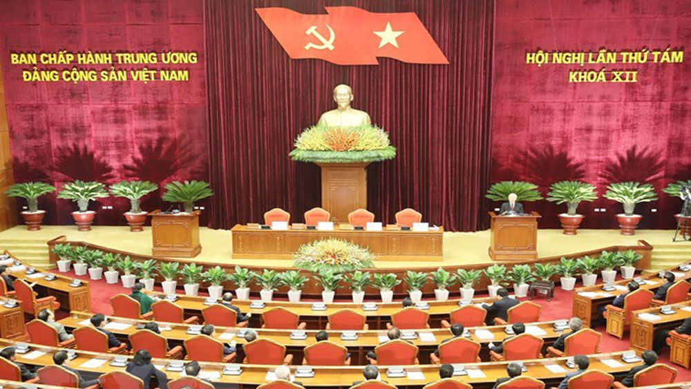 Party Central Committee, 8th plenum, closing speech, positive changes, socio-economic situation, national development, national sovereignty, sovereign rights