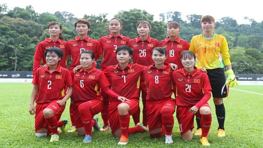 Vietnam's female football team rise one step in FIFA rankings
