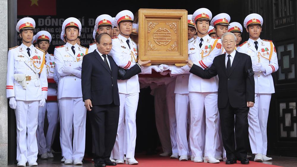 Lễ truy điệu và đưa tang nguyên Tổng Bí thư Đỗ Mười