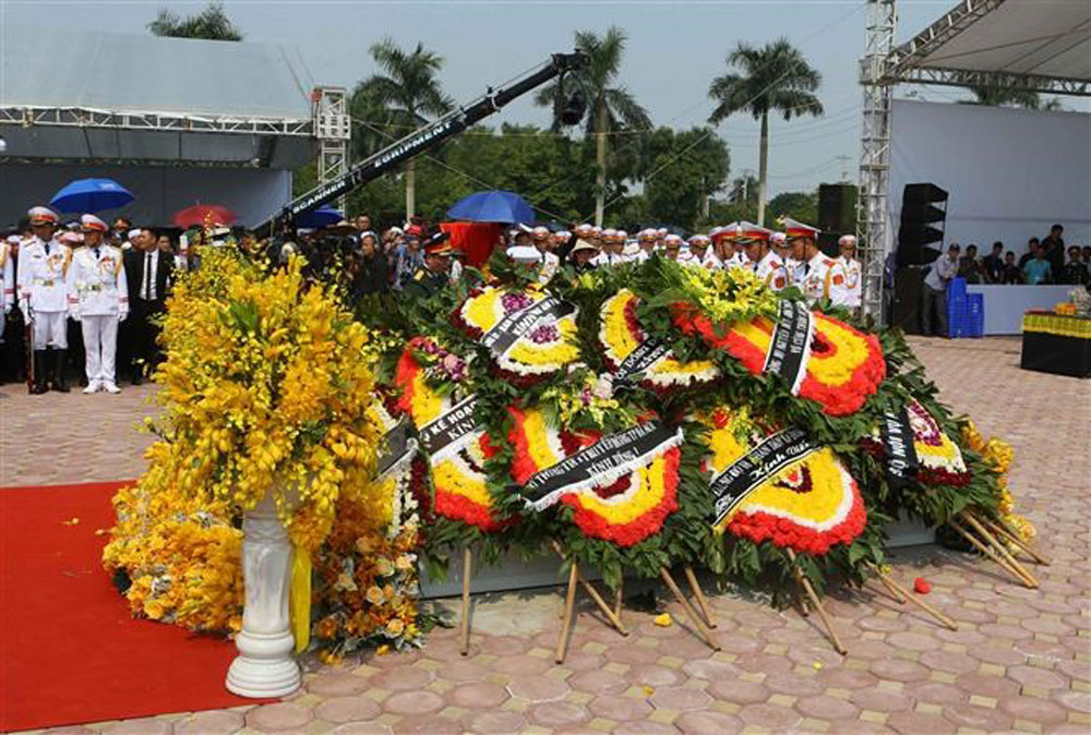 Former Party General Secretary, Do Muoi, laid to rest, hometown, burial service, 80-year revolutionary career