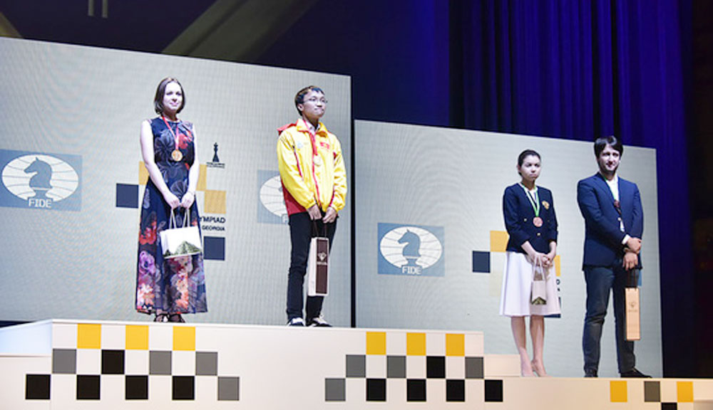 Vietnam, seventh position, men's Chess Olympiad, 43rd Chess Olympiad, significant triumph, Vietnamese team, best performance, individual performance