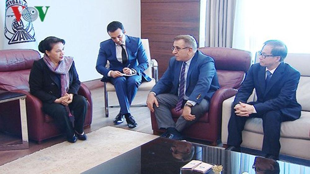 Chủ tịch Quốc hội đến Thổ Nhĩ Kỳ tham dự Hội nghị MSEAP 3