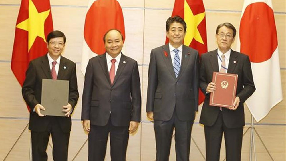 Thủ tướng, Nguyễn Xuân Phúc, hội đàm, Thủ tướng Nhật Bản Shinzo Abe