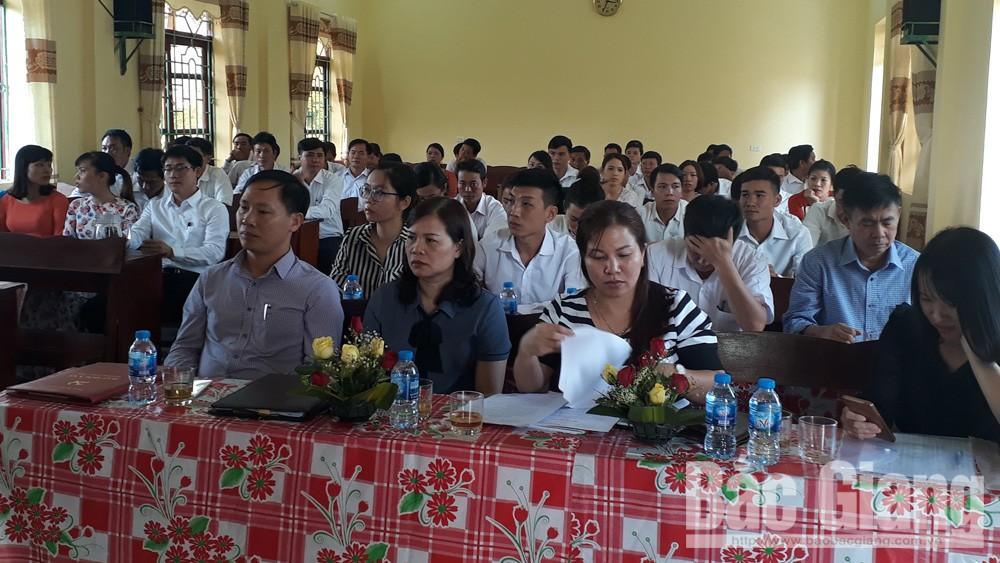 Lục Nam khai giảng lớp trung cấp lý luận chính trị - hành chính