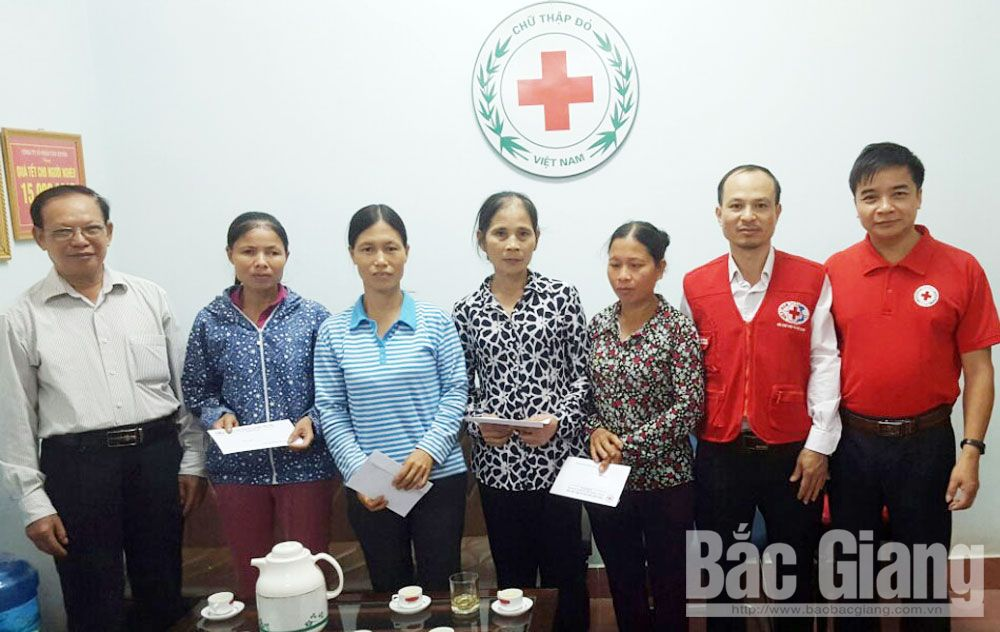 Acts of kindness, Bac Giang province, humanitarian address, special difficulties, Social Insurance Agency,  political system, capital sources, meaning of activities, long-term humanitarian assistance