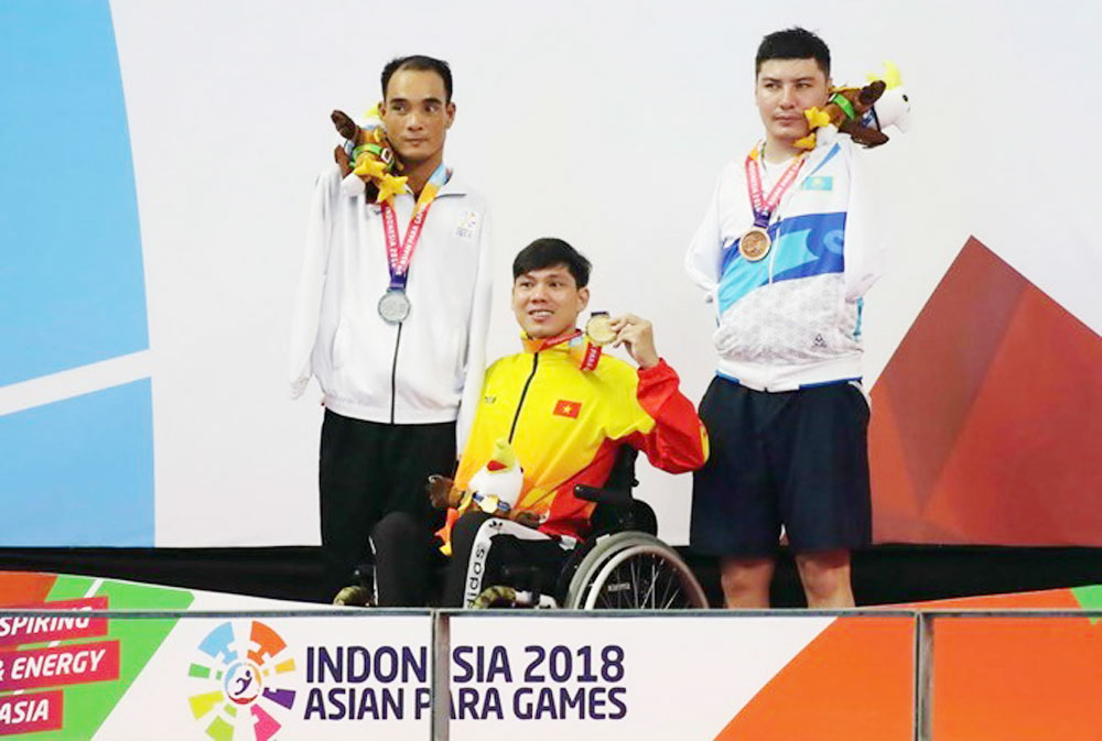 Asian Para Games, Vietnam, more golds, powerlifting, swimming, shining performances, Games record, additional bronze medals