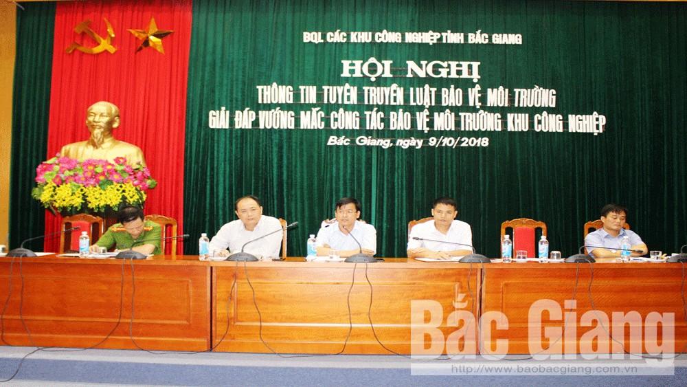 Bắc Giang, khu công nghiệp, doanh nghiệp, bảo vệ, môi trường