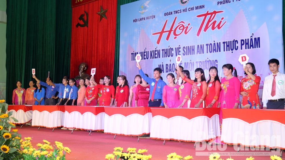 Việt yên, hội thi, an toàn thực phẩm