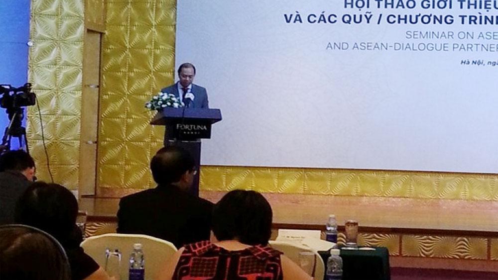 Tranh thủ, nguồn lực, các Quỹ hợp tác ASEAN, ASEAN, đối tác