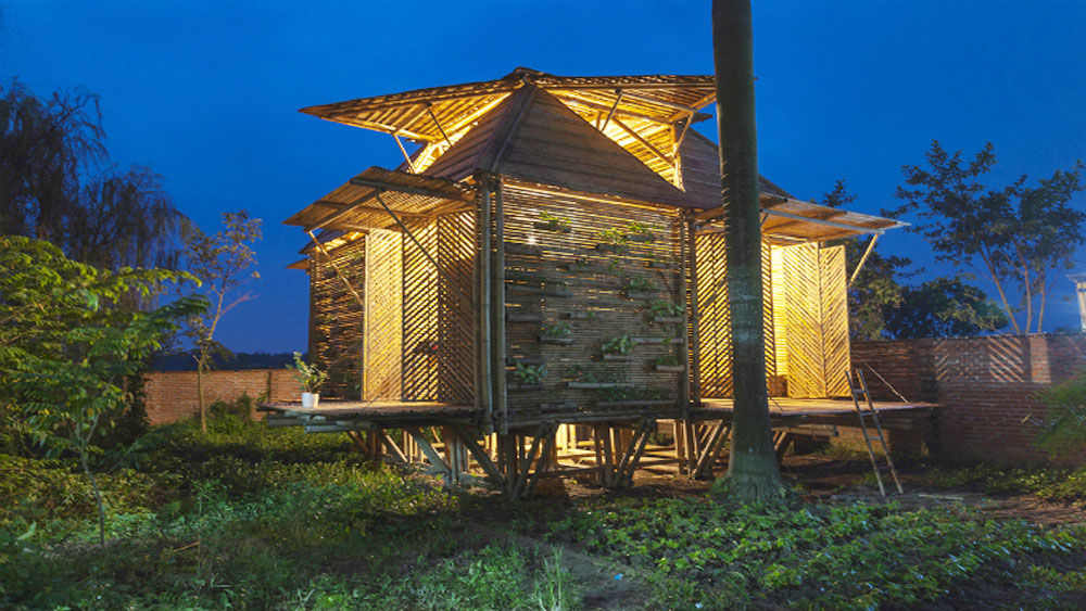 Vietnamese architect's bamboo house wins prestigious German design award