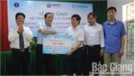 Bệnh viện Đa khoa huyện Hiệp Hòa tiếp nhận hệ thống máy chụp cắt lớp (CT-Scaner)