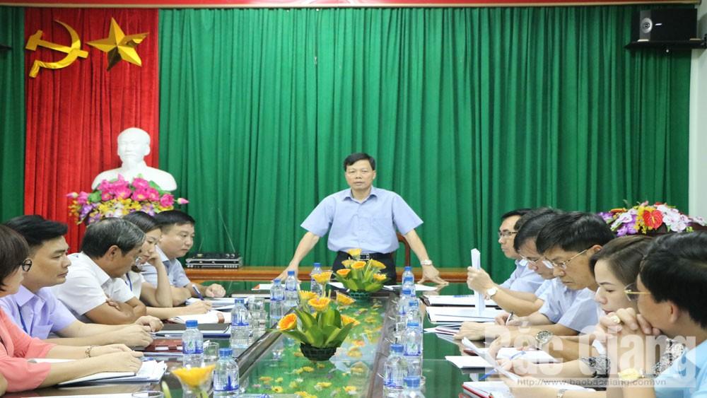 đôn đốc, thu nợ đọng thuế, TP Bắc Giang,