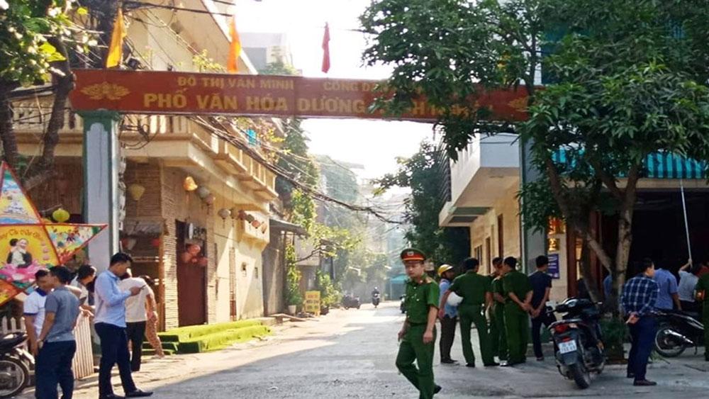 Một cán bộ Cảnh sát môi trường tử vong cạnh nhà riêng