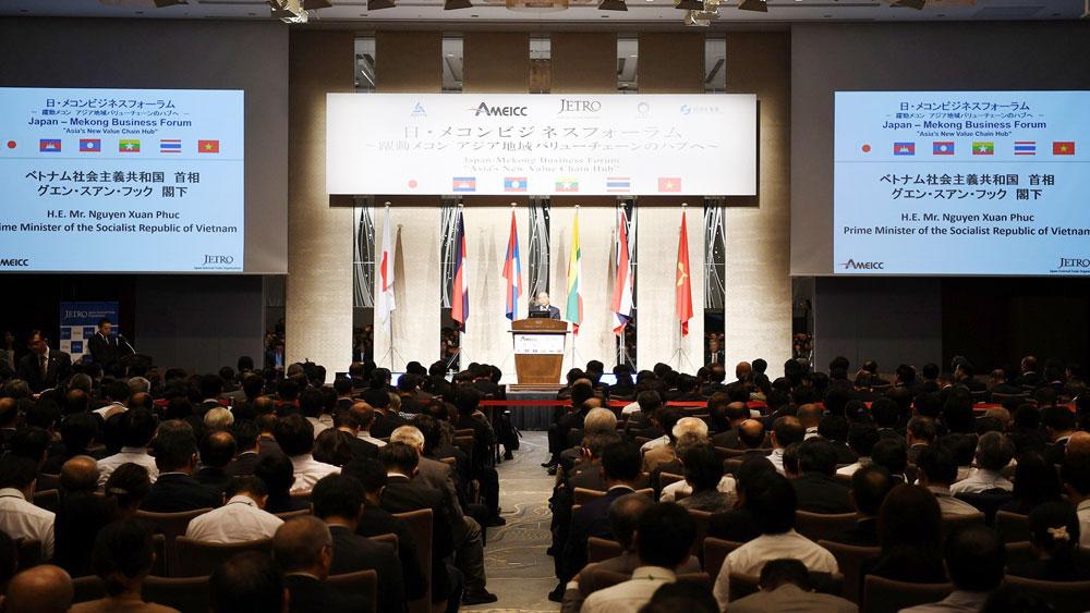 Thủ tướng, Nguyễn Xuân Phúc, Diễn đàn doanh nghiệp Mekong – Nhật Bản