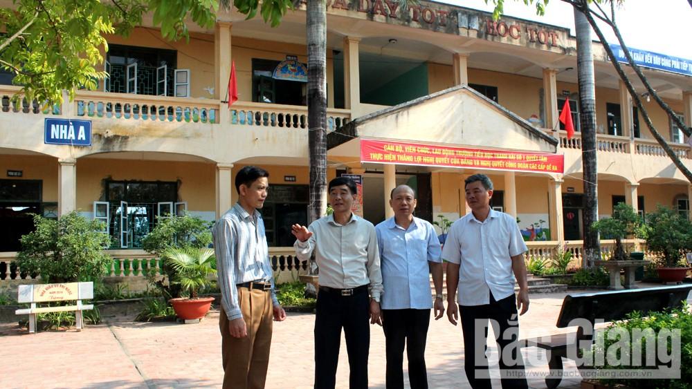 thực hiện, Nghị quyết 114, tư tưởng, Tỉnh ủy Bắc Giang, Báo Bắc Giang