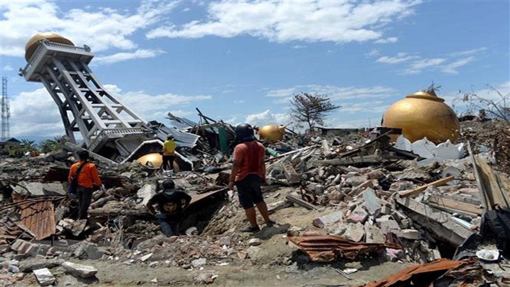 Đã có hơn 2.000 người chết trong vụ động đất, sóng thần ở Indonesia