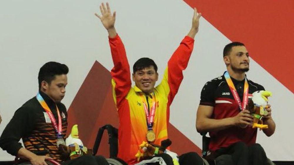 Asian Para Games 2018: Võ Thanh Tùng giành tấm HCV thứ hai